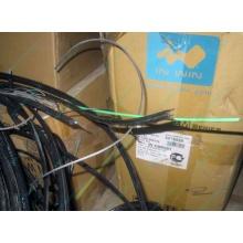 Оптический кабель Б/У для внешней прокладки (с металлическим тросом) в Электрогорске, оптокабель БУ (Электрогорск)