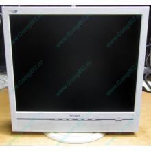 """Б/У монитор 17"""" Philips 170B с колонками и USB-хабом в Электрогорске, белый (Электрогорск)"""